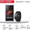 Sony Xperia L + Sony Smartwatch2