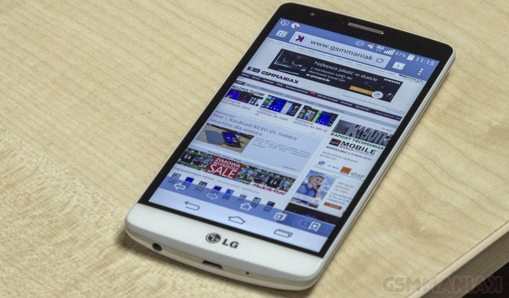 LG G3s – test telefonu