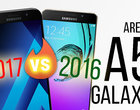 Arena: Galaxy A5 2017 vs A5 2016