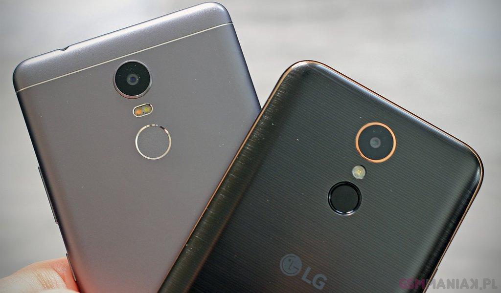 Lenovo K6 Note czy LG K10 (2017)? Który smartfon kupić