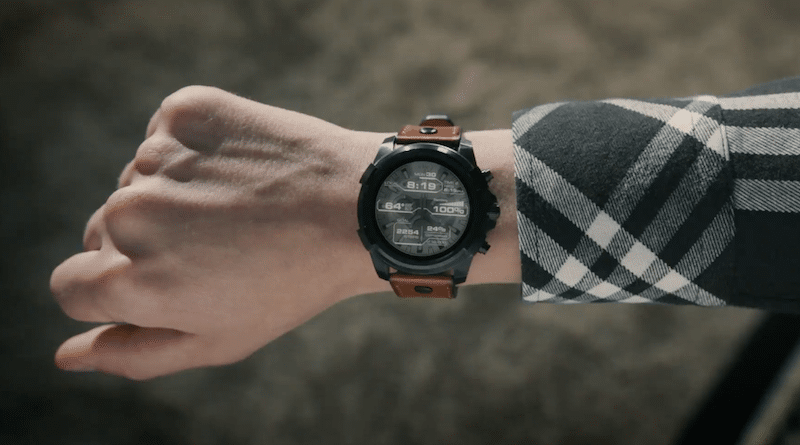 Oto Pierwszy Smartwatch Diesel On Full Guard Ladny