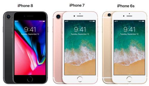 iphone 8 vs iphone 7 2