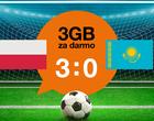 Orange: darmowy pakiet GB za zwycięstwo Polski nad Kazachstanem