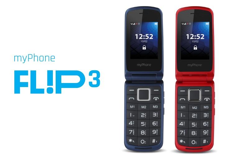 2d61747847d26 myPhone FLIP 3 – tani telefon z klapką w promocji w Biedronce ...