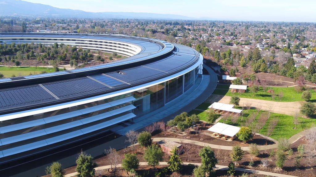 e24f0339647889 Nowa siedziba Apple jest tak ładna, że… pracownicy wchodzą w ściany ...