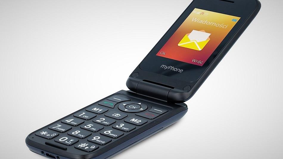 116cfb2ff49a5 myPhone Flip 4 w Biedronce. Tani telefon z klapką (cena) | gsmManiaK.pl
