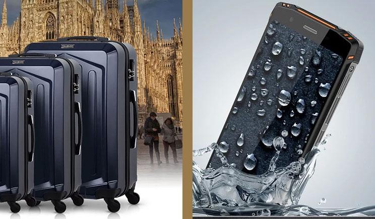 3174ab00ca49 Dobre promocje na wakacyjny wyjazd  walizka i pancerny smartfon ...