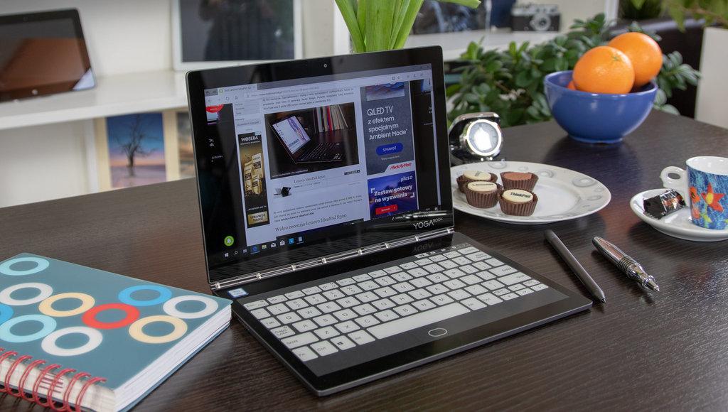 Lenovo Yoga Book C930: nie ma drugiego takiego laptopa i