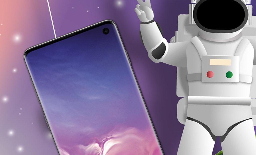 Zabawne Tapety Dla Galaxy S10 Mają Własną Aplikację