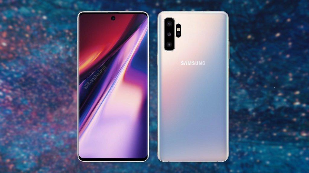 Znamy Pojemność Baterii Samsunga Galaxy Note 10
