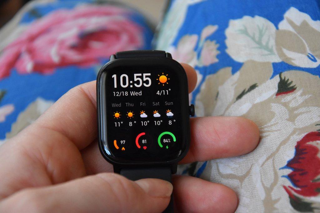 zegarek xiaomi jak zmienic styl wyswietlacza