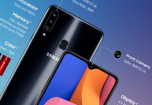 Samsung Galaxy A20s oficjalnie. To naprawdę dobry smartfon z niższego segmentu - tani smartfon