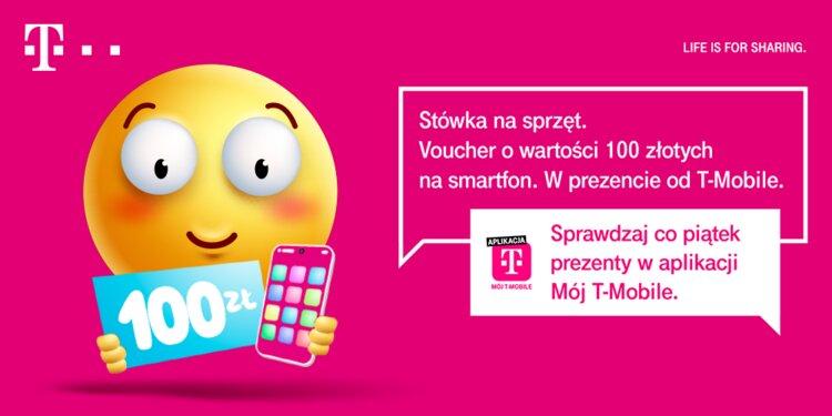 T-Mobile rozdaje kupony rabatowe na nowy smartfon - Happy Fridays