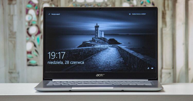 TEST   Acer Swift 3 (Ryzen 7). Gdybym chciał laptopa do pracy i rozrywki, to ten byłby na górze listy -