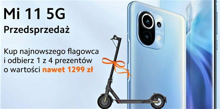 Xiaomi Mi 11 ZNIKNĄŁ z polskich sklepów. Wiem, gdzie go zamówisz ze świetnymi prezentami -