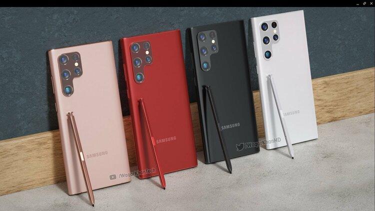 Oto Samsung Galaxy S22 Ultra pod każdym możliwym kątem. Fanie Note – jesteś w domu! -