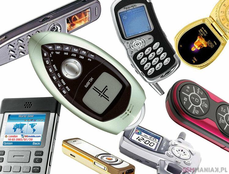 TOP-30 najdziwniejszych telefonów na świecie. Specyficzne piękno czy zwykła brzydota? -