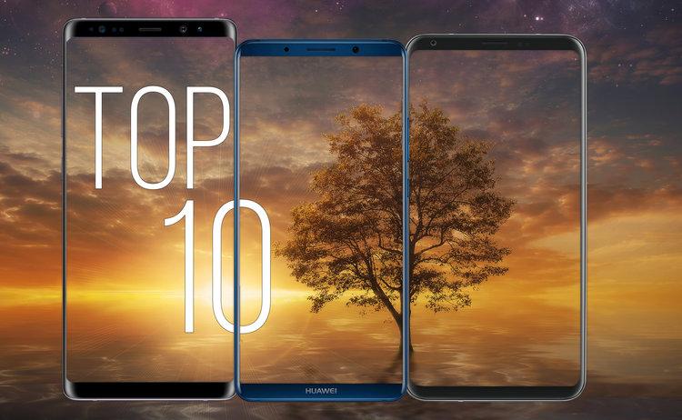 """Najlepsze """"bezramkowe"""" smartfony. TOP-10 (jesień 2017) - TOP10 smartfony bez ramek"""