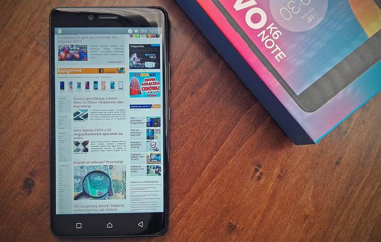 Promocja: Lenovo K6 Note w najniższej cenie na rynku. Jak kupować, to właśnie teraz -