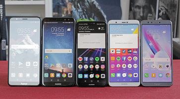 Test i porównanie 5 telefonów Huawei i Honor do 1500 zł. Który smartfon wybrać? -