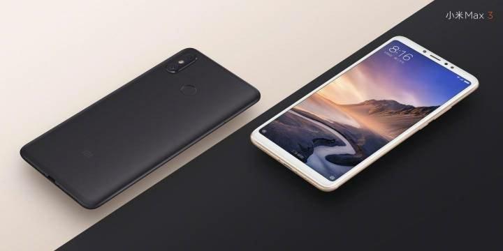 6,9-calowy Xiaomi Mi Max 3 na oficjalnych grafikach. Piękny olbrzym? -