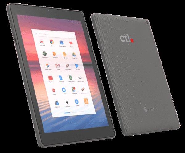 Zadebiutował kolejny tablet z systemem operacyjnym Chrome - CTL Chromebook Tab Tx1