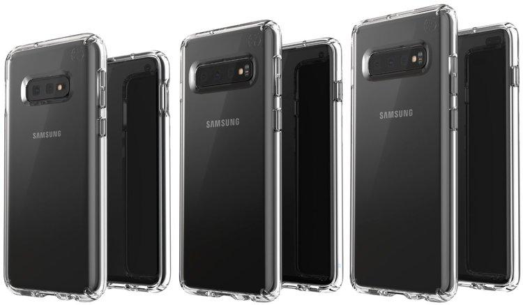 Trzy smartfony Samsung Galaxy S10 na jednej grafice. Który wygląda najlepiej? -