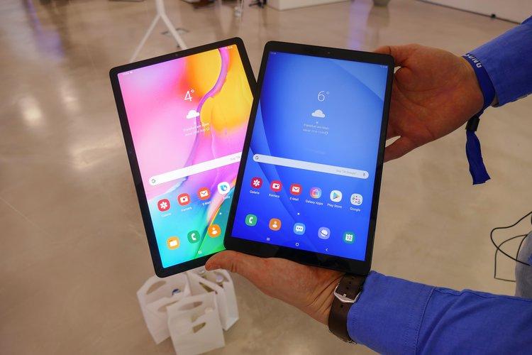 Samsung Galaxy Tab A 10.1 (2019). Tablet z modnym metalowym designem - tablet z Androidem Pie